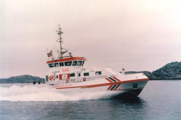 Ulabrand - 25m monohull Search and Rescue / Coast Guard vessel delivered in 1998.