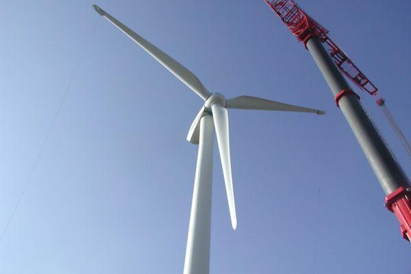 We have delivered more than 100 composite wind turbine blades delivered.