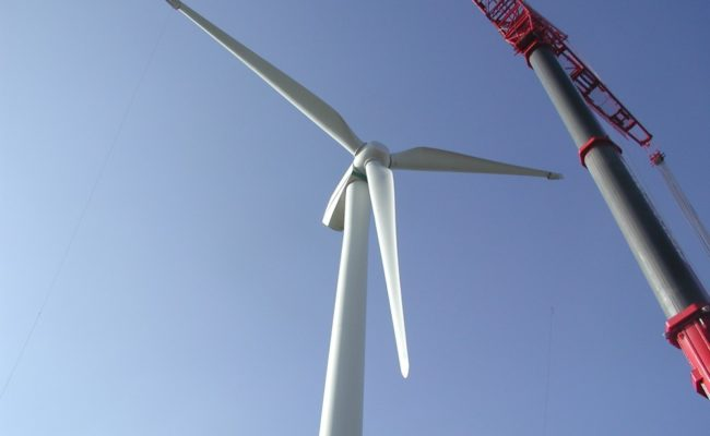We have delivered more than 100 composite wind turbine blades delivered.