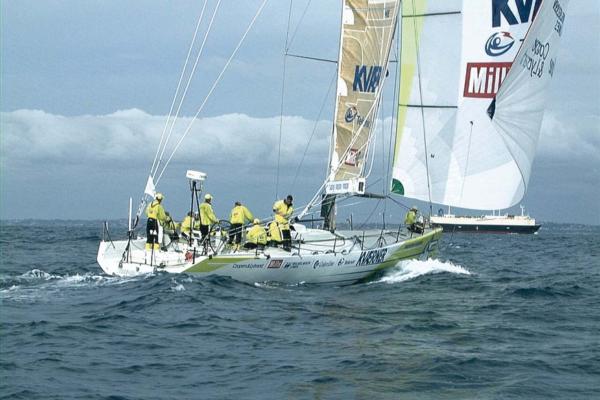 Whitbread 60m Sail Racing Yacht Innovation Kværner.