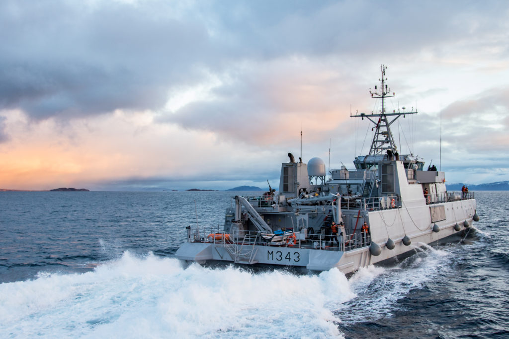 Revolutionary Mine Countermeasure Vessels (MCMV) serving Royal Norwegian Navy.