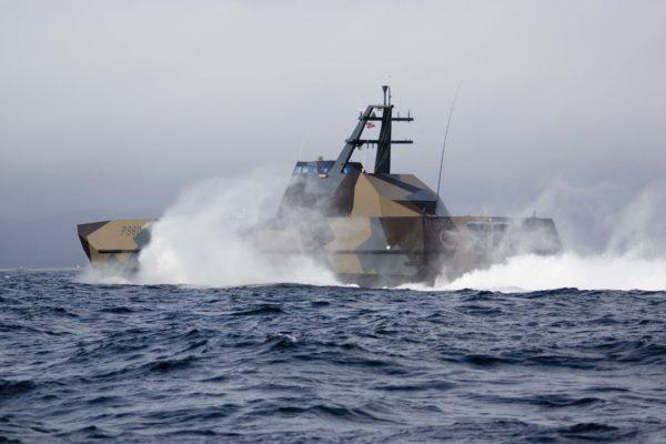 Slkold class corvette - the fastest warship in the world.