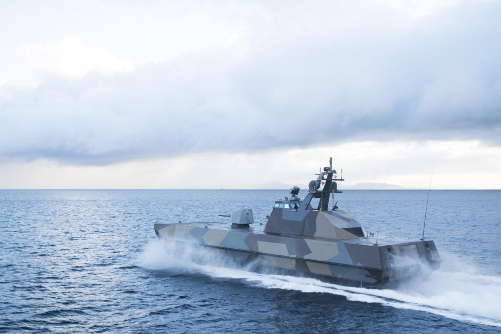 KNM Skjold under øvelse Flotex 2015 / KNM Skjold during exercise Flotex 2015