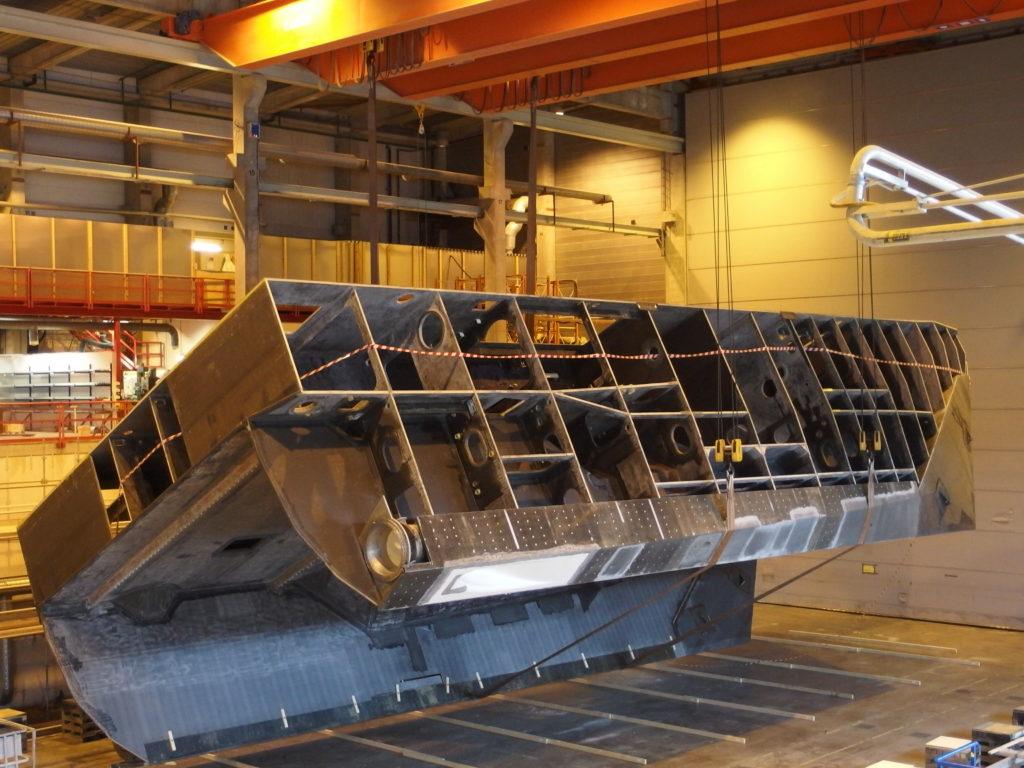 WAVECRAFT vessel under production
