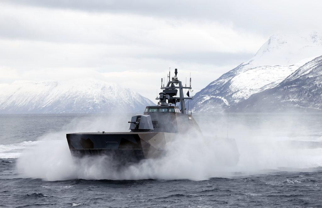 Skjold Class Coastal Corvettes - world's fastest combat ship ( speed 60 kn).